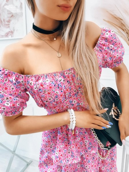 Sukienka hiszpanka - BEAUTY - wzór 3