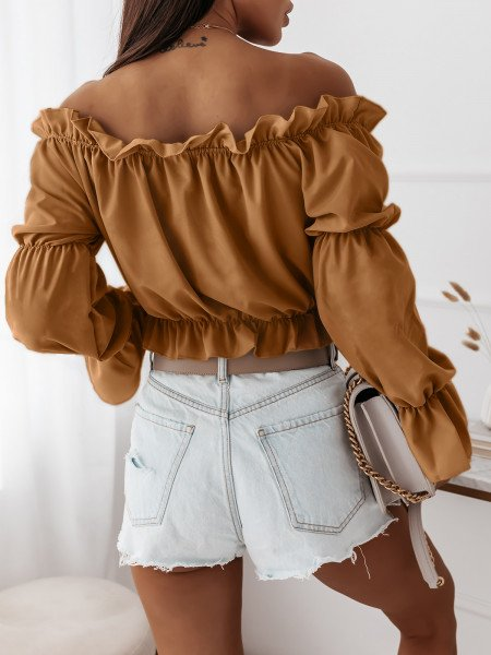 Seksowna bluzka hiszpanka...