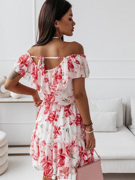 Sukienka hiszpanka w kwiaty...