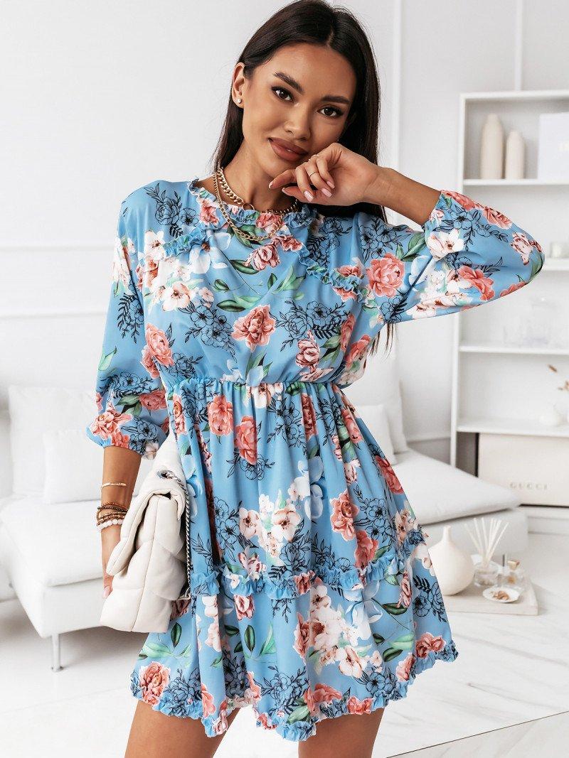 Sukienka z odkrytymi plecami -RUBI -...