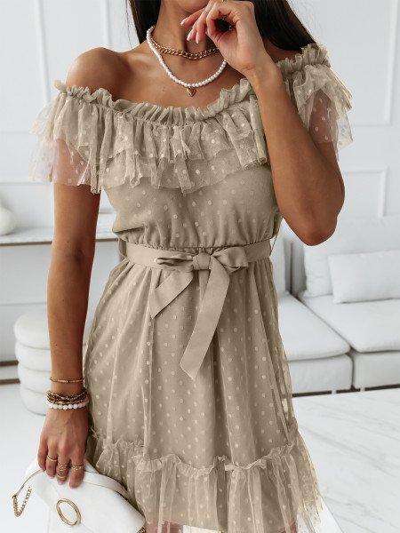 Sukienka tiulowa z...
