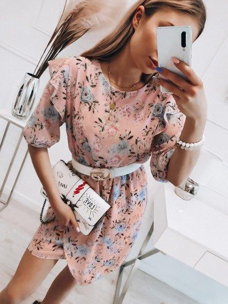 Sukienka w kwiaty ESMERALDA...