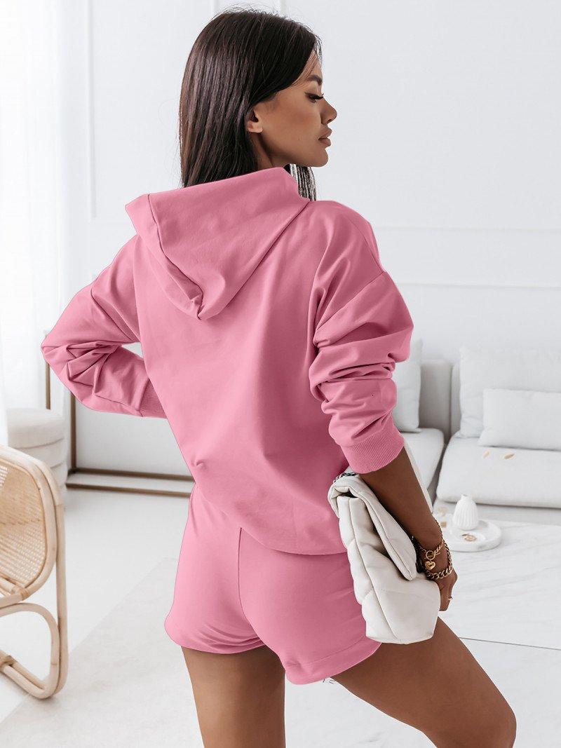 Komplet dresowy bluza + szorty -...