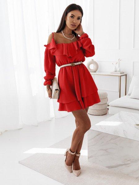 Zwiewna sukienka hiszpanka...