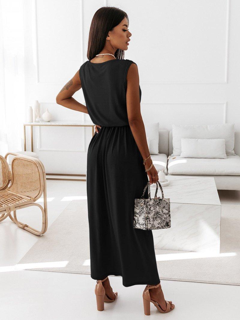 Kobieca maxi sukienka EMMY - czarna