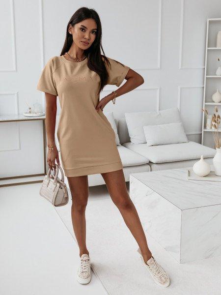 Sukienka ze złotym...
