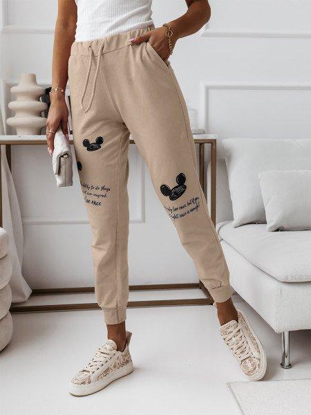 Spodnie dresowe z nadrukiem...