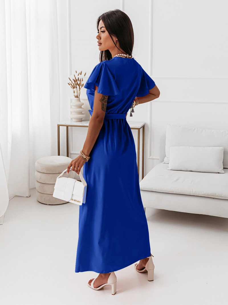 Elegancka sukienka maxi CAROLINE -...