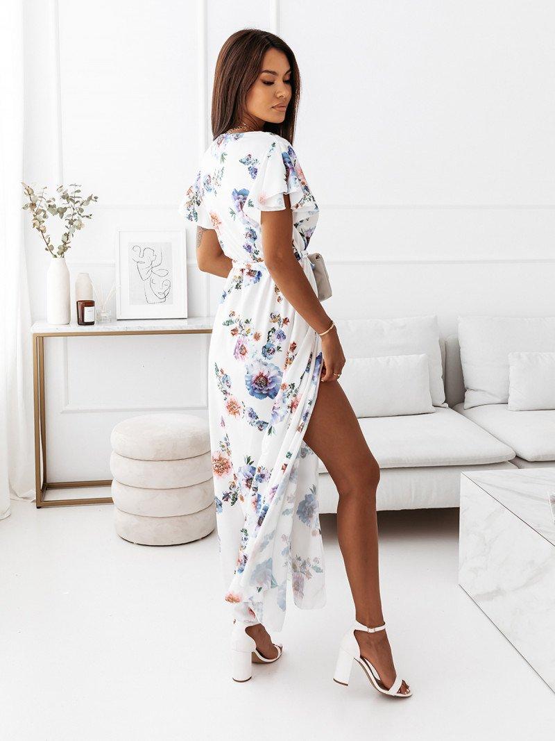 Elegancka sukienka maxi - LIVANNA -...