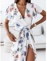 Elegancka sukienka maxi - LIVANNA - wzór 1