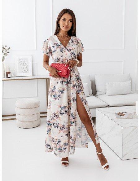 Elegancka sukienka maxi - LIVANNA - wzór 2