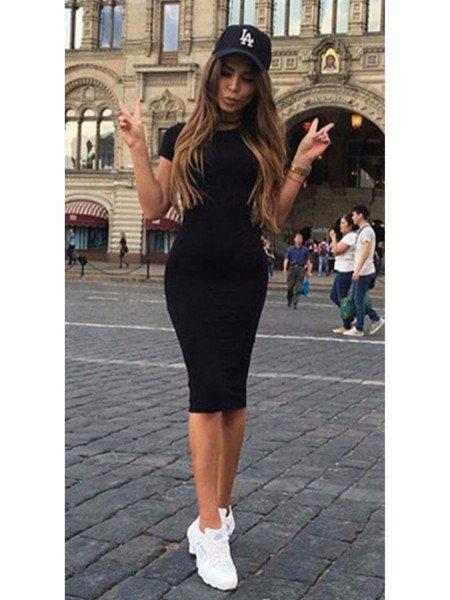 Kobieca dresowa sukienka...
