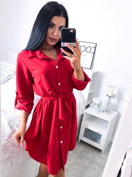 Kobieca sukienka szmizjerka JADE