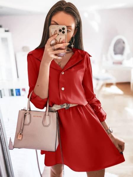 Sukienka mini szmizjerka...