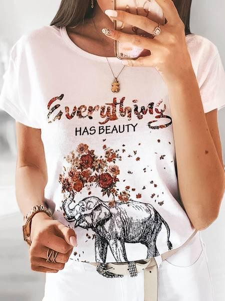T-shirt BEAUTY - wzór 9