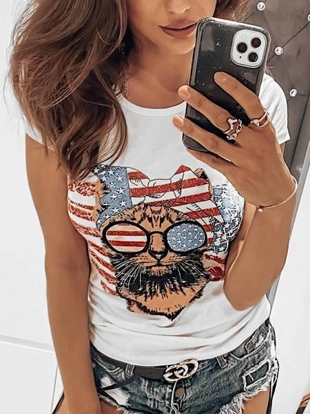 T-shirt AMERICA - wzór 12