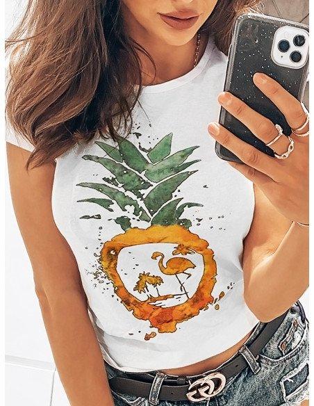 T-shirt FLAMING - wzór 17