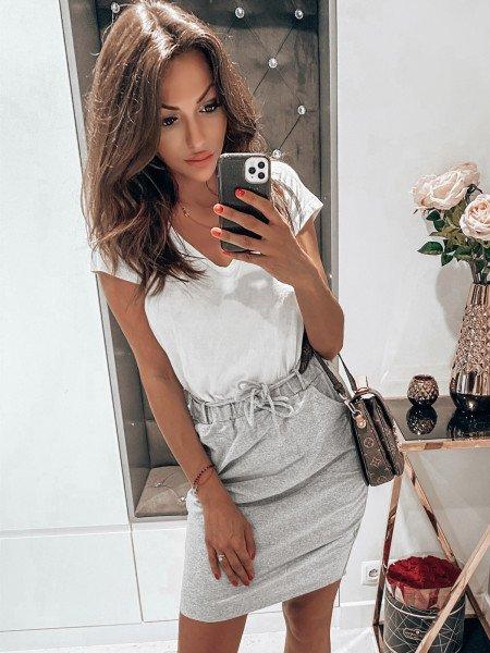 Dresowa mini spódnica TRACY...