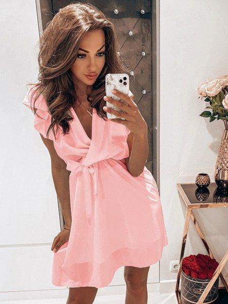 Sukienka z kopertowym...