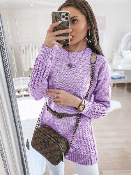 Sweterkowa tunika sweterek...
