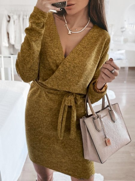 Sweterkowa sukienka VALERIA...