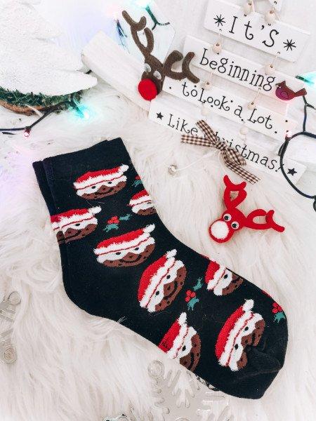 Skarpety w świąteczne wzory...
