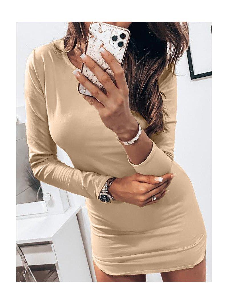 Dopasowana seksowna sukienka RESSE -...