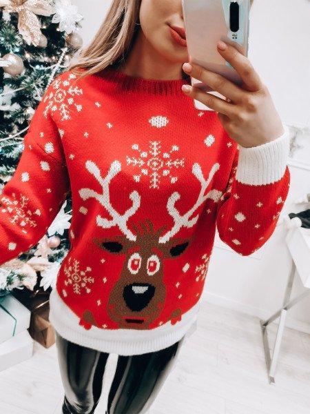 Świąteczny sweter REINDEER...