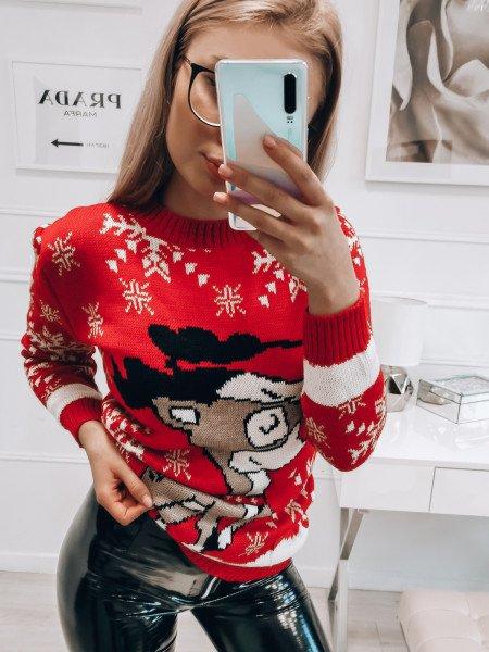 Świąteczny sweter BELLS -...