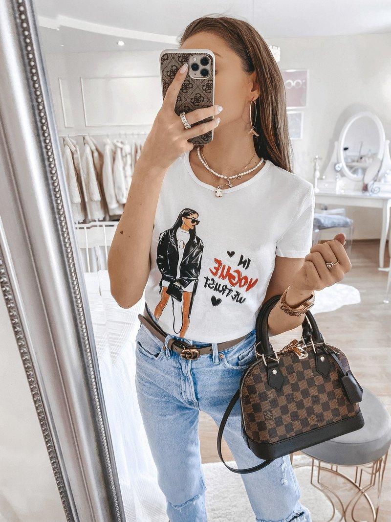 T-shirt VOGUE - wzór 9