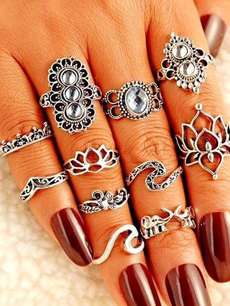 Zestaw 1 sztuk pierścionków