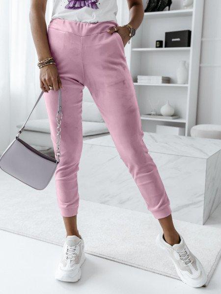 Welurowe spodnie sportowe...